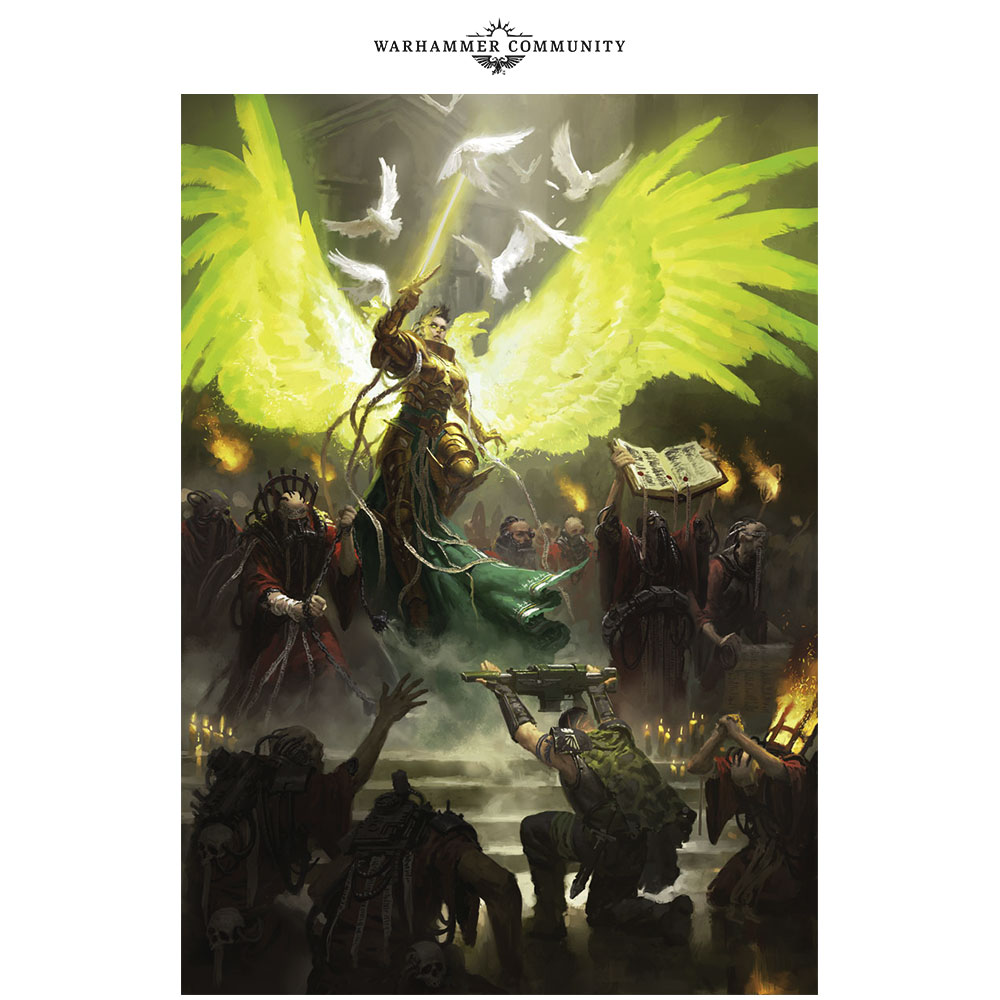 Programme des publications The Black Library 2019 - UK - Page 3 BLLiveReveals-Jun1-SaintSabbat30htgo