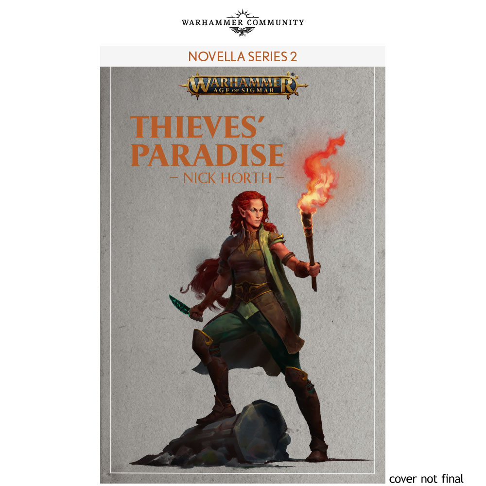 Programme des publications The Black Library 2019 - UK - Page 3 BLLiveReveals-Jun1-ThievesParadise18nwwh