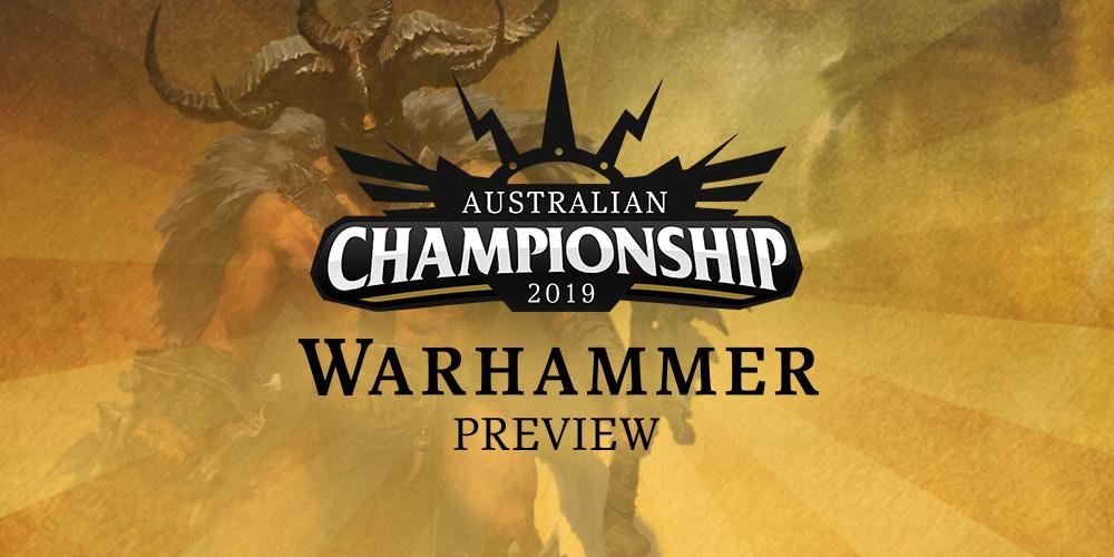 Australian Championship Warhammer Preview - Warhammer Community
