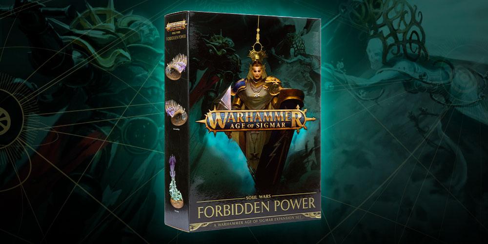 Forbidden Power Penumbral Engine Soul Wars inc. Warscroll card