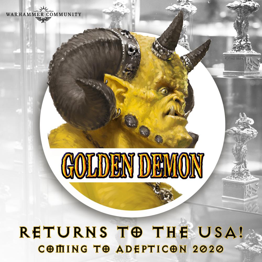 Best Earbuds Under 50 Reddit 2020 Golden Demon returning to the US in 2020 at Adepticon : Warhammer