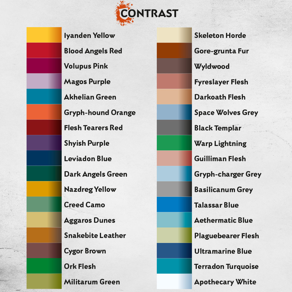 contrast paints