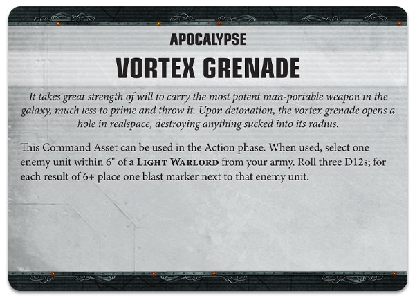 Warhammer 40000 Apocalypse rules preview