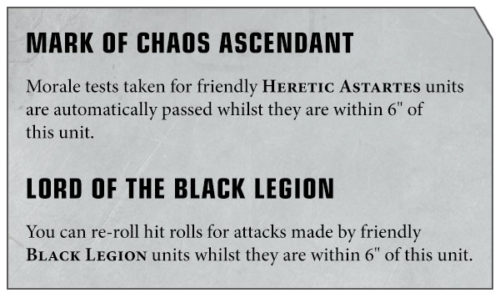 Warhammer 40000 Apocalypse Chaos Space Marines Preview