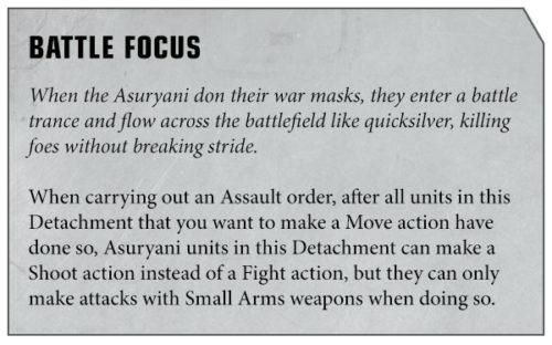 Warhammer 40000 Apocalypse eldar rules
