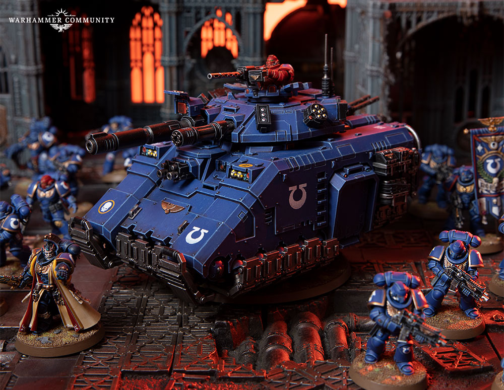 warhammer 40000 Apocalypse Spaces Marines