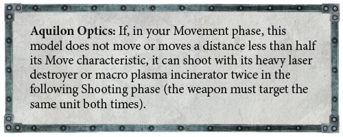 Primaris Repulsor Executioner rules