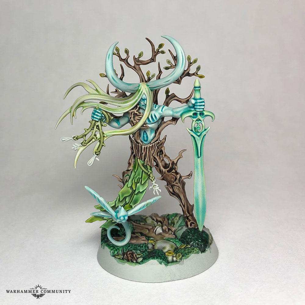 From The Mind Of Mengel Painting Sylvaneth With Contrast Warhammer Community