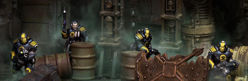 Ceramite Warhammer 40k Necromunda Adeptus Arbite Palanite Subjugator