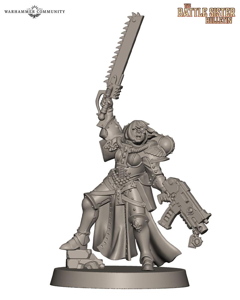 Battle Sister Bulletin – Part 11: New Models Sighted! - Warhammer