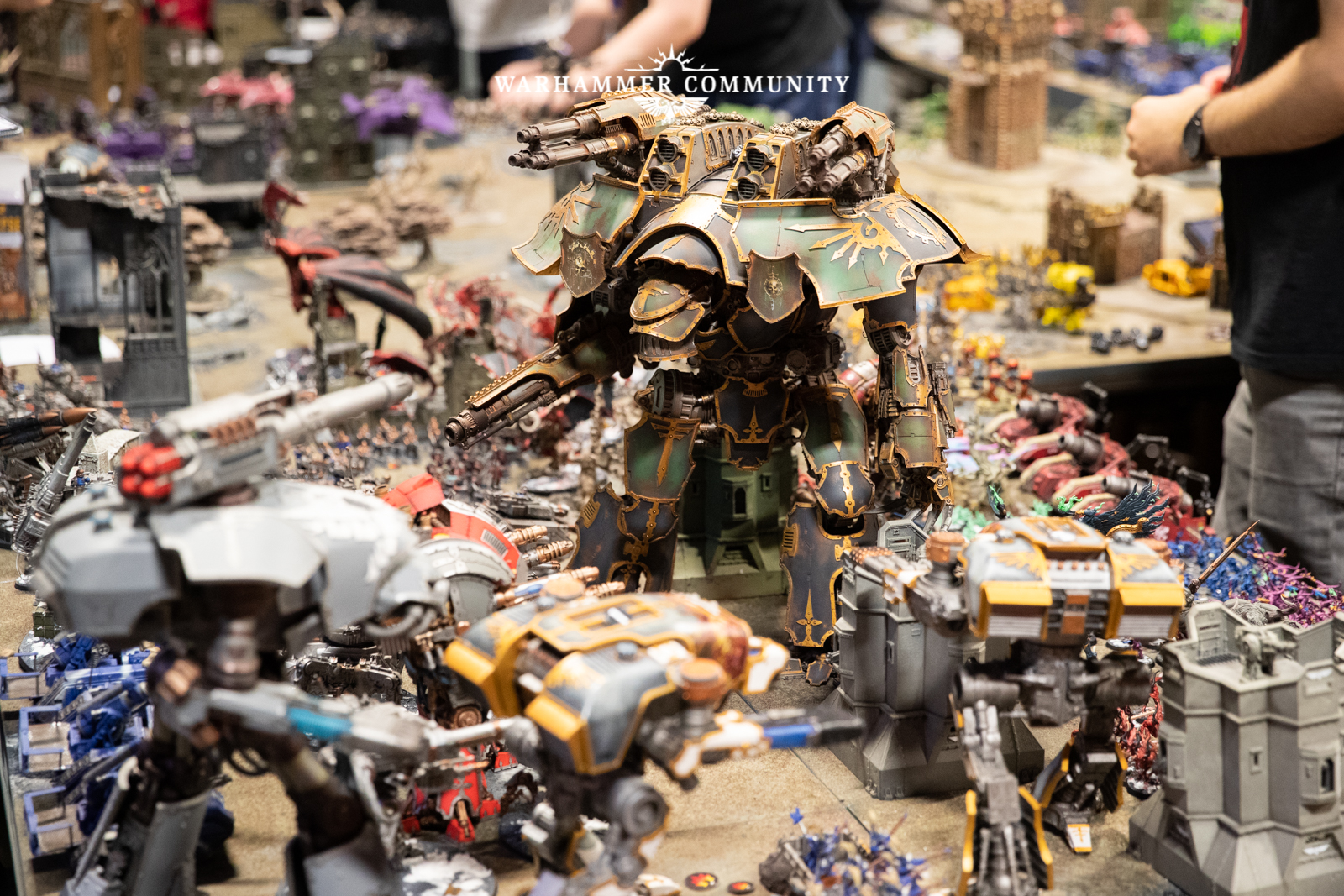 Apocalypse Mega-battle and Warhammer 40,000 Preview!   Frontline Gaming