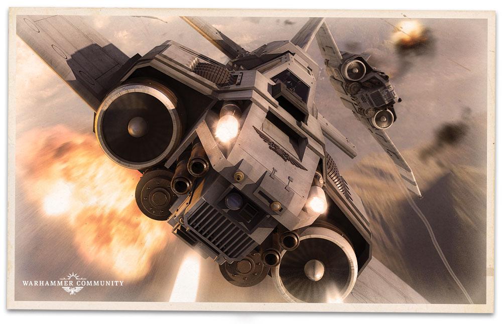 eldar fighter Aeronautica Imperialis