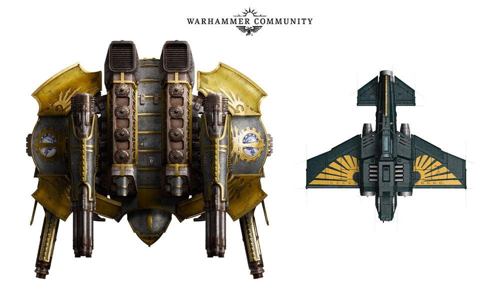 Aeronautica Imperialis models