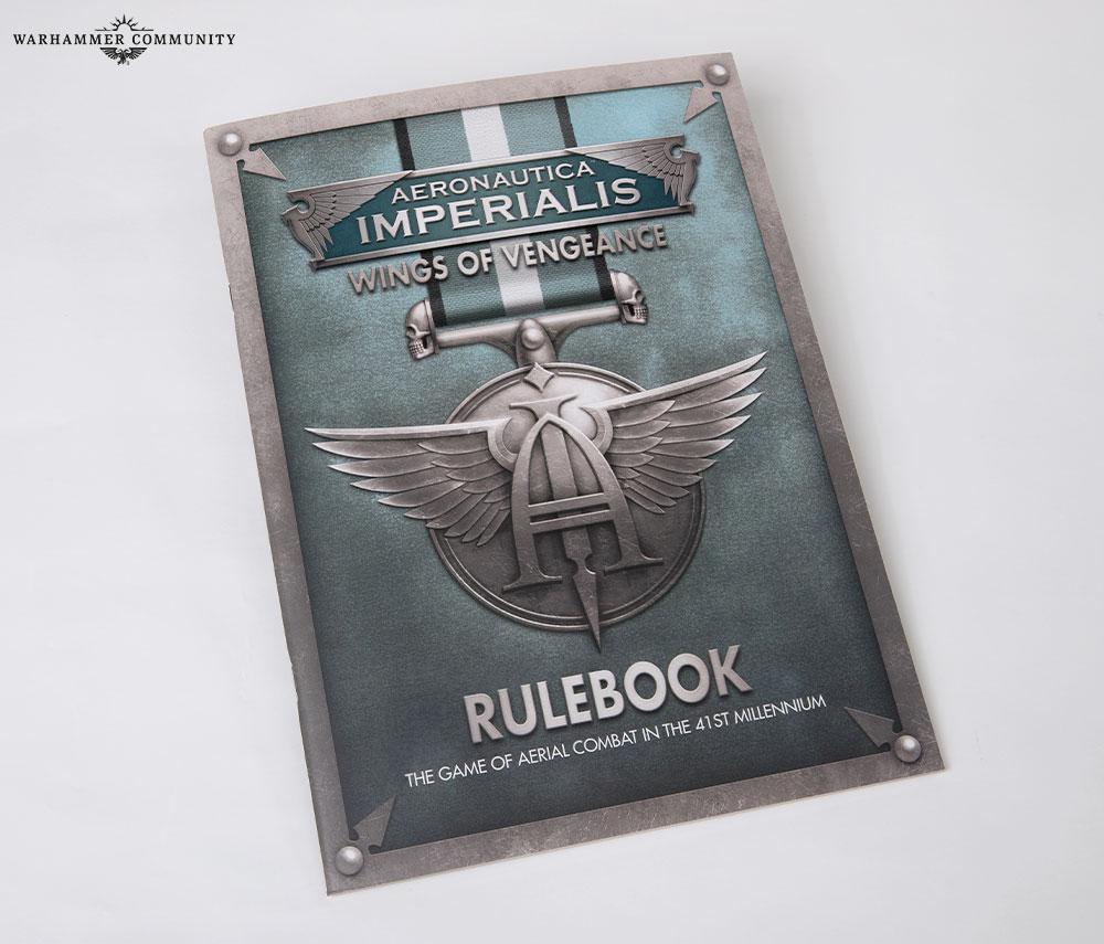 Aeronautica Imperialis  Rules book