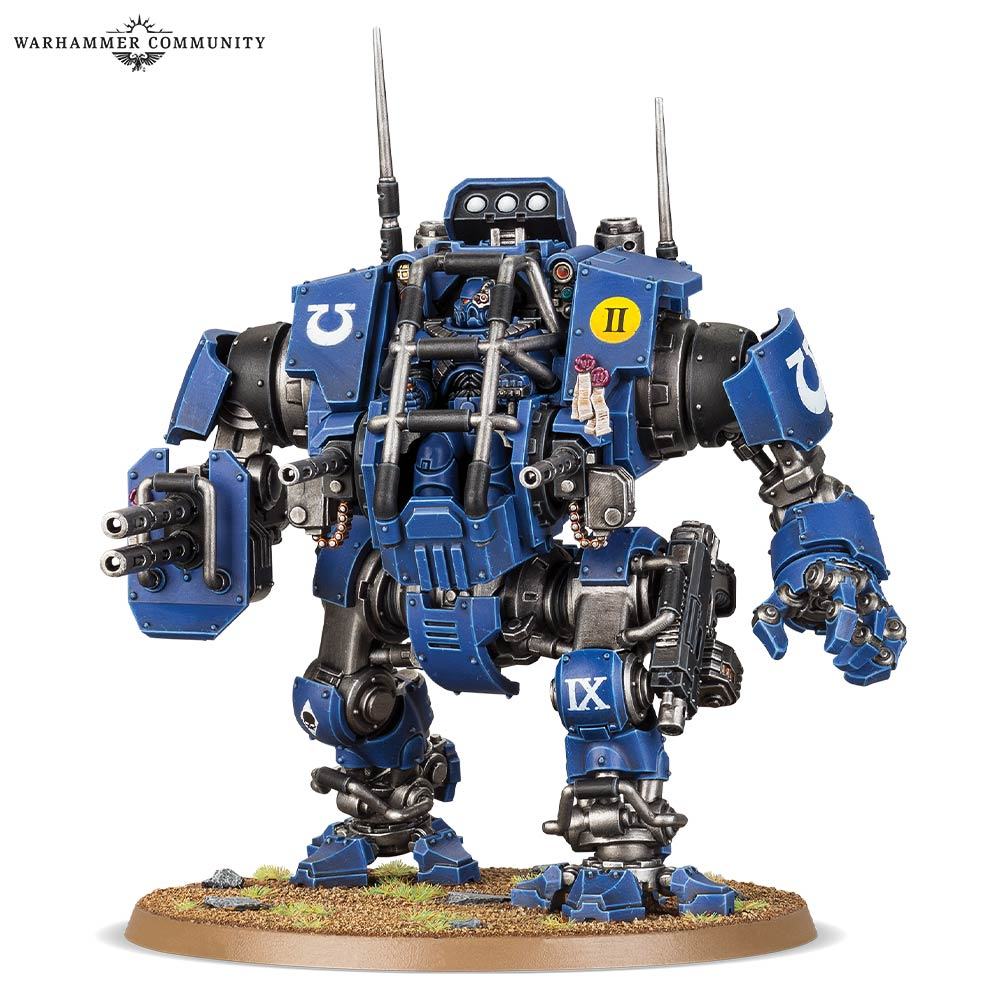 new space marines primaris dreadnought rules