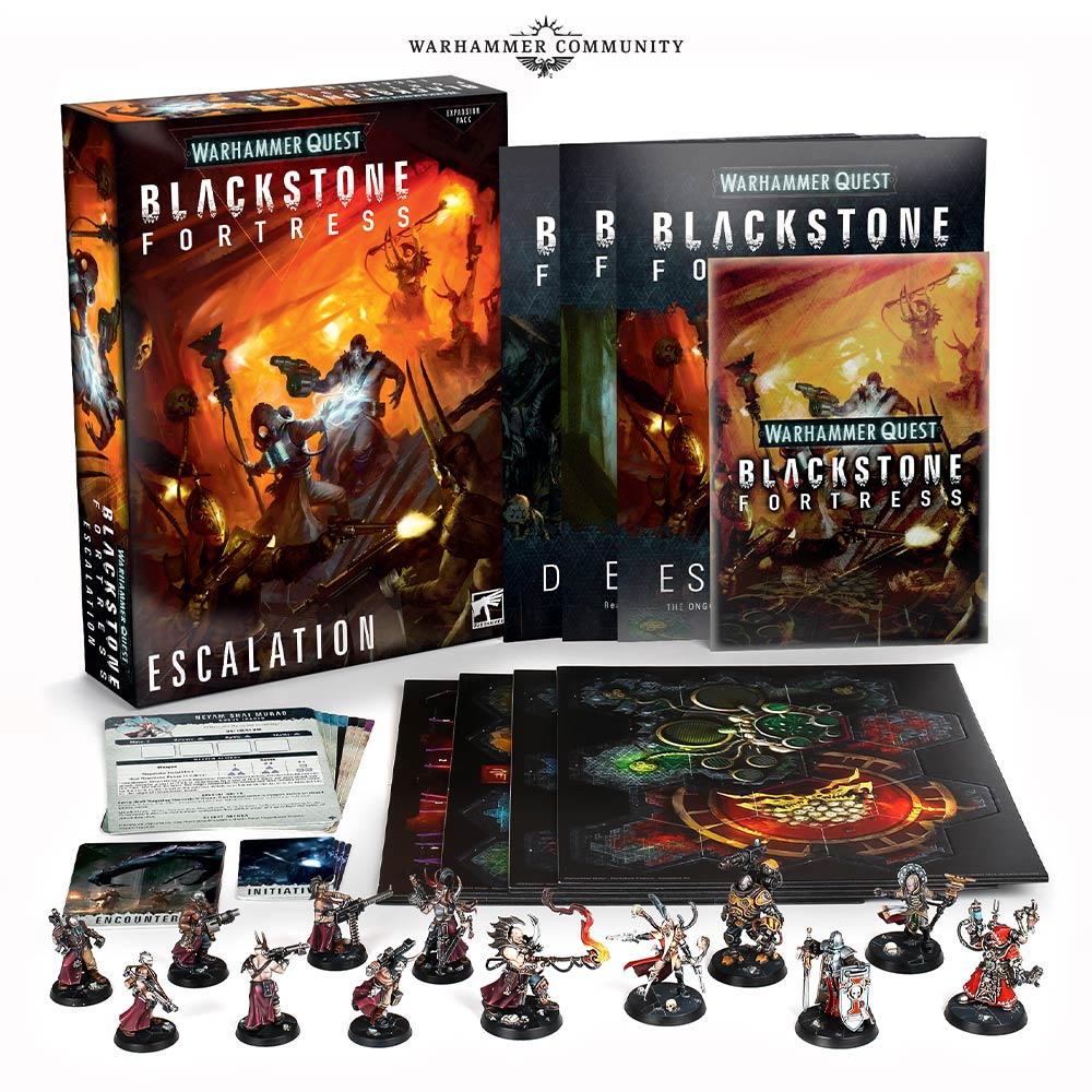pre orders  Warhammer Quest Blackstone Fortress Kill Team's new Starter Set