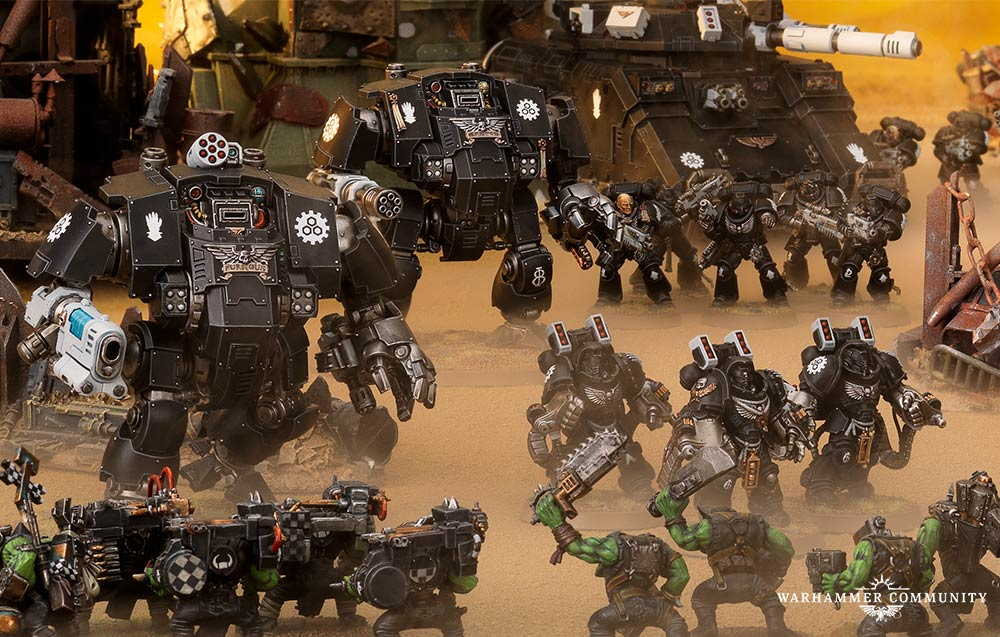 Space Marines Preview: Enhanced Chapter Tactics - Warhammer