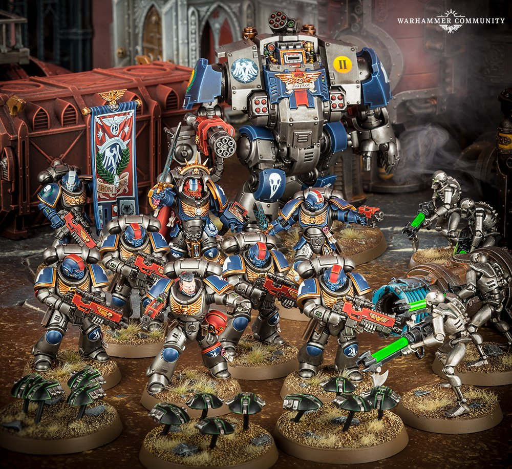 Space Marines Preview: Create Your Own Chapter! - Warhammer