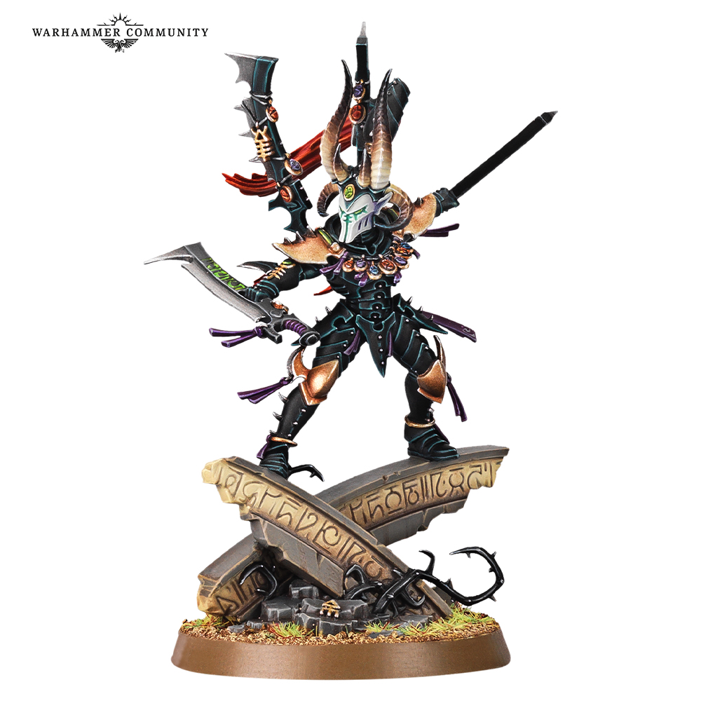 Drazhar Master of Blade warhammer 40000