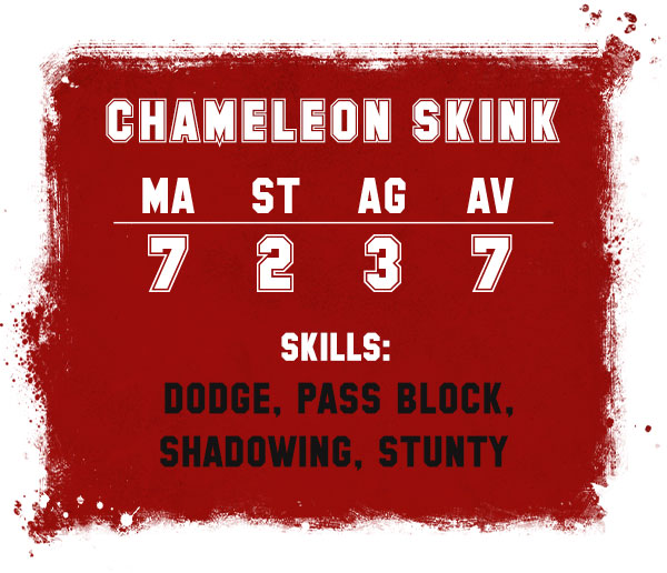 Chameleon Skinks rules