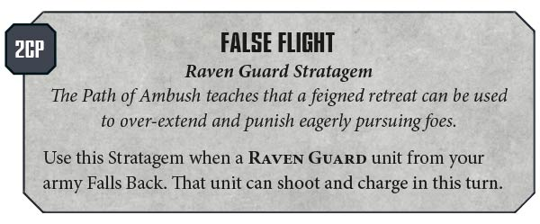 Raven Guard codex rules