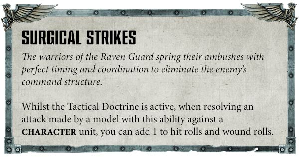 Raven Guards codex rules review preview