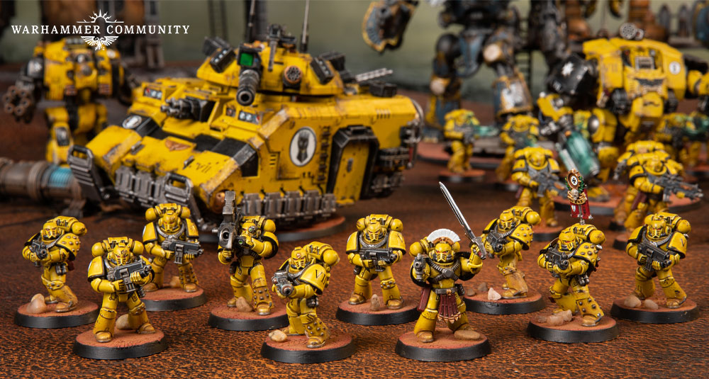 Space Marines Showcase: Darcy's Imperial Fists - Warhammer Community