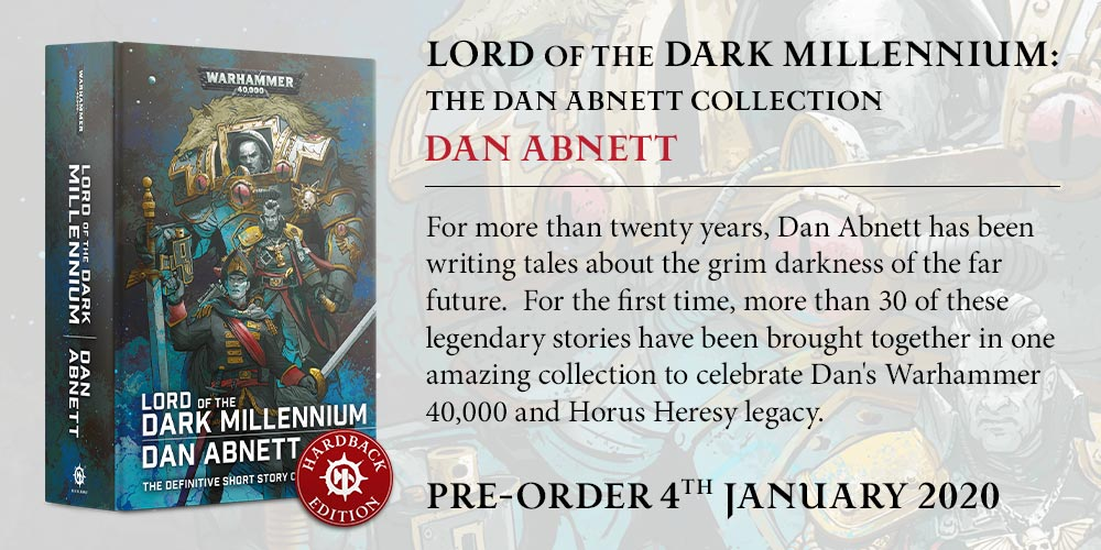 Programme des publications The Black Library 2019 - UK - Page 5 BLComingSoon-Jan2020-LordDarkMillennium_HB
