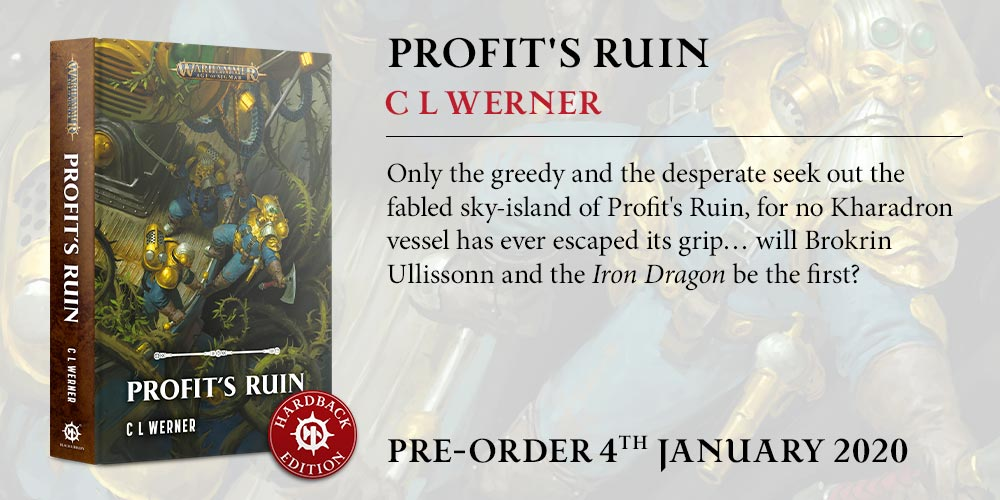 Programme des publications The Black Library 2019 - UK - Page 5 BLComingSoon-Jan2020-ProfitsRuin_HB