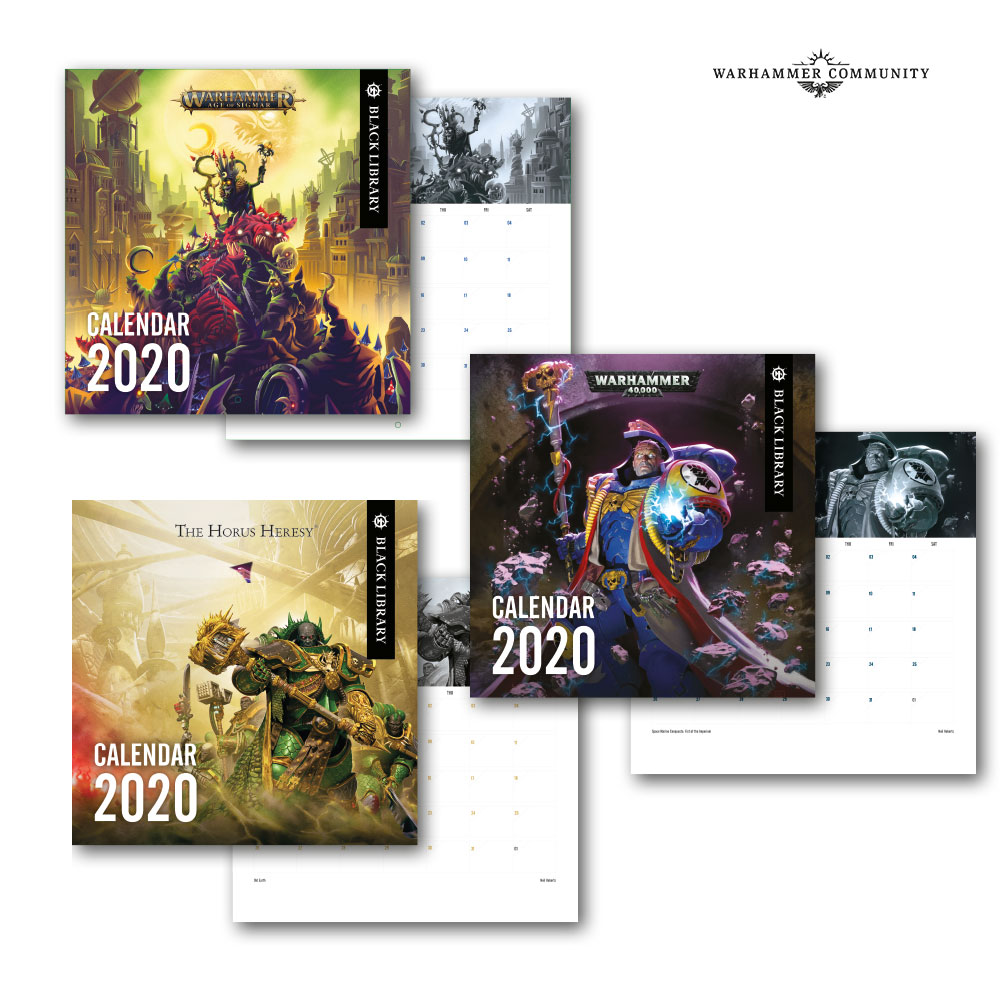 Games Coming Out In October 2020.2020 Calendars Inferno And More Warhammer Community