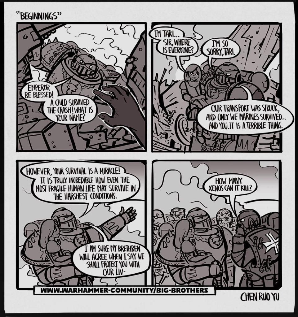 Big Brothers Warhammer Community