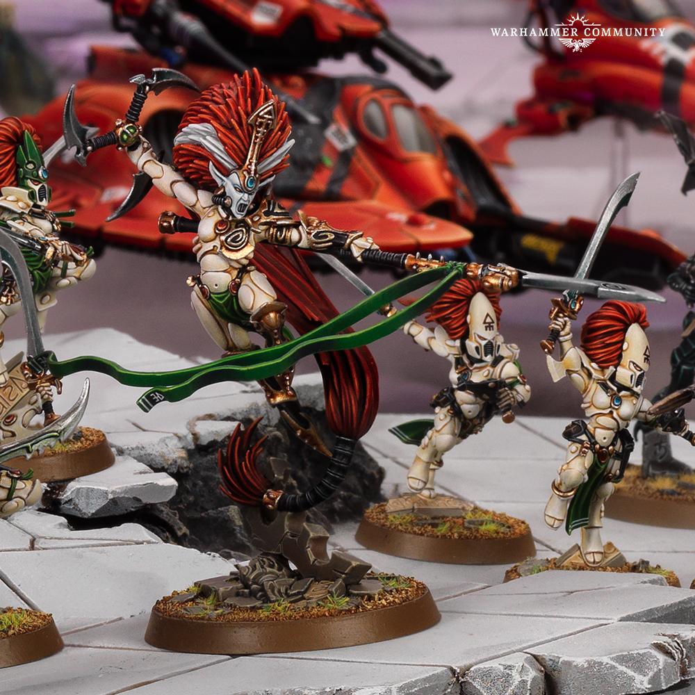Warhammer 40000 Psychic Awakening Jain Zar vs Drazhar