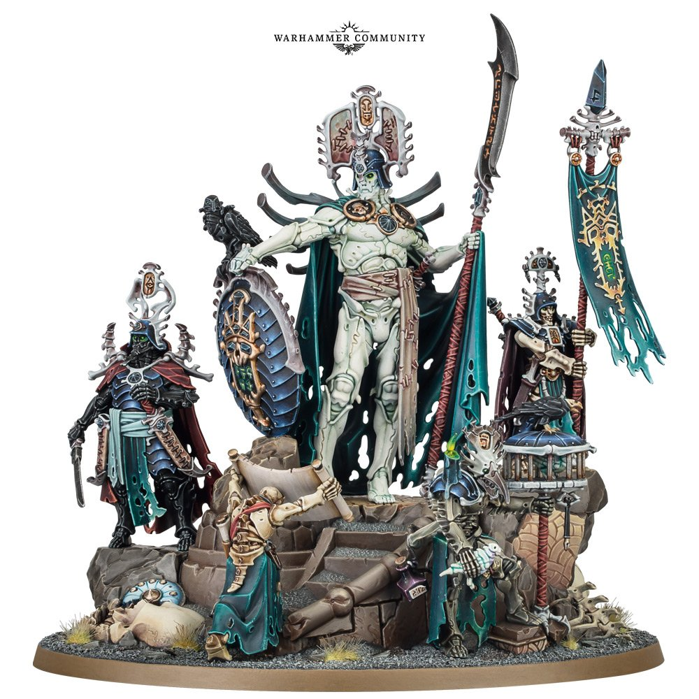 Ossiarch Bonereapers rules age of sigmar