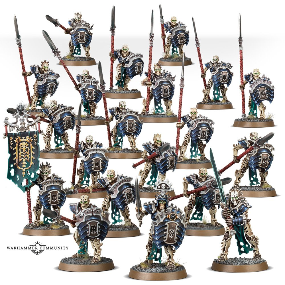 Ossiarch Bonereapers age of sigmar