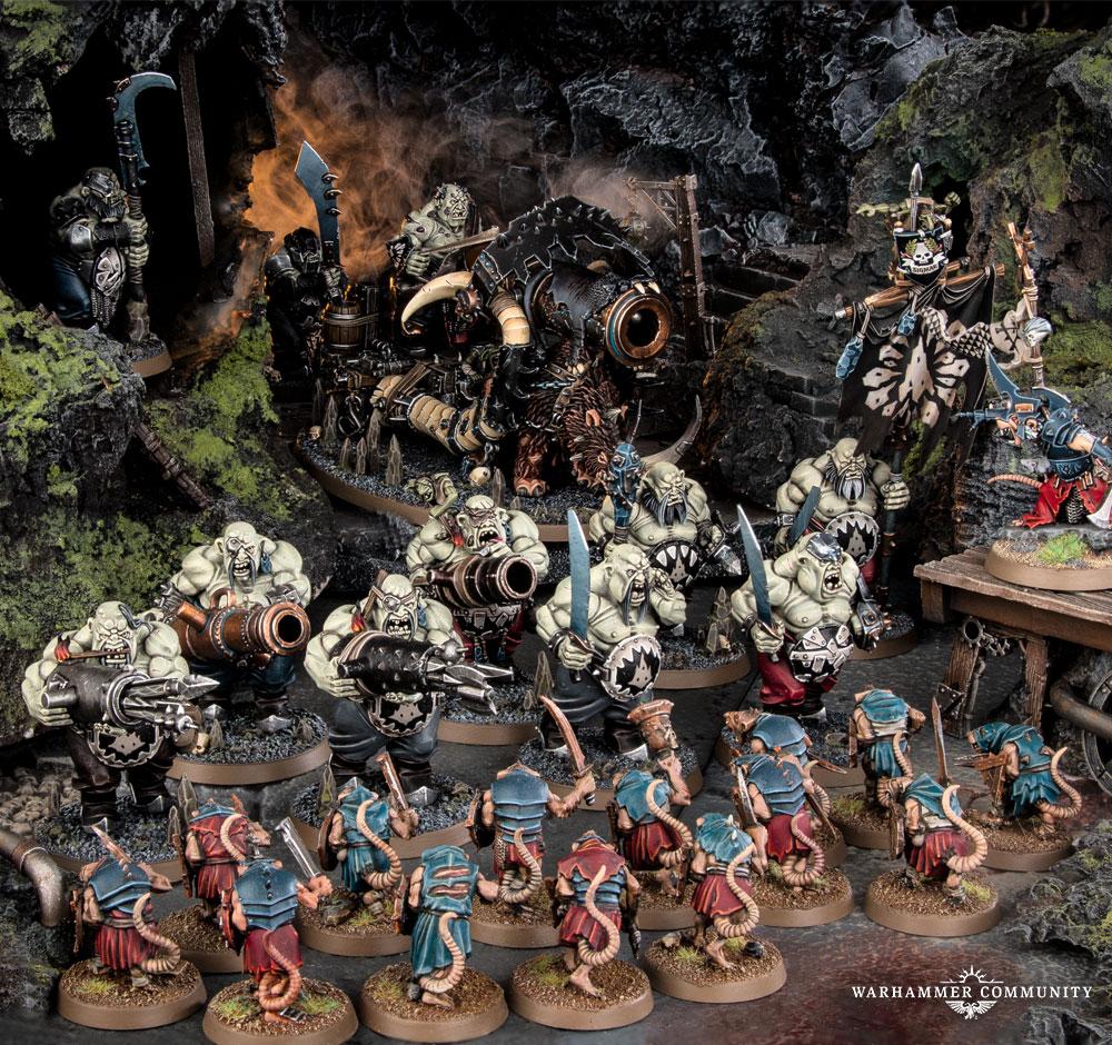 Gnoblars Ogor Mawtribes Warhammer AOS NIB