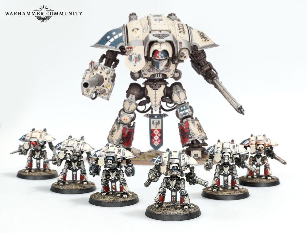 Games Workshop Adeptus Titanicus Knight Household Battleforce