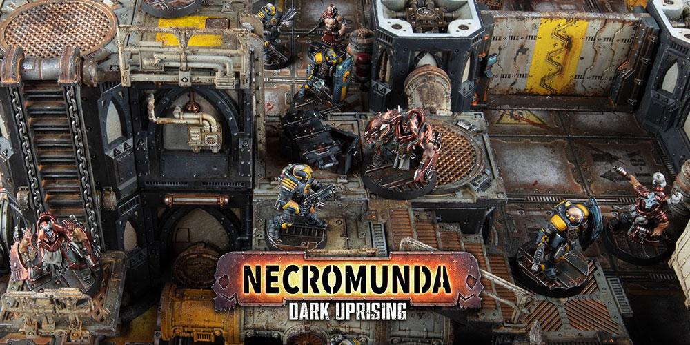 Platforms Necromunda Dark Uprising Zone Mortalis Warhammer 40K Kill Team Terrain