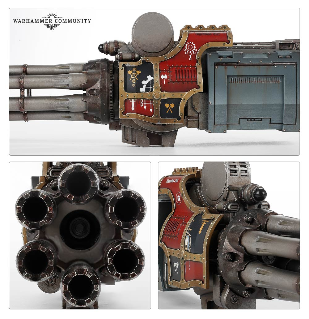 Macro-gatling Blaster in the Age of Darkness