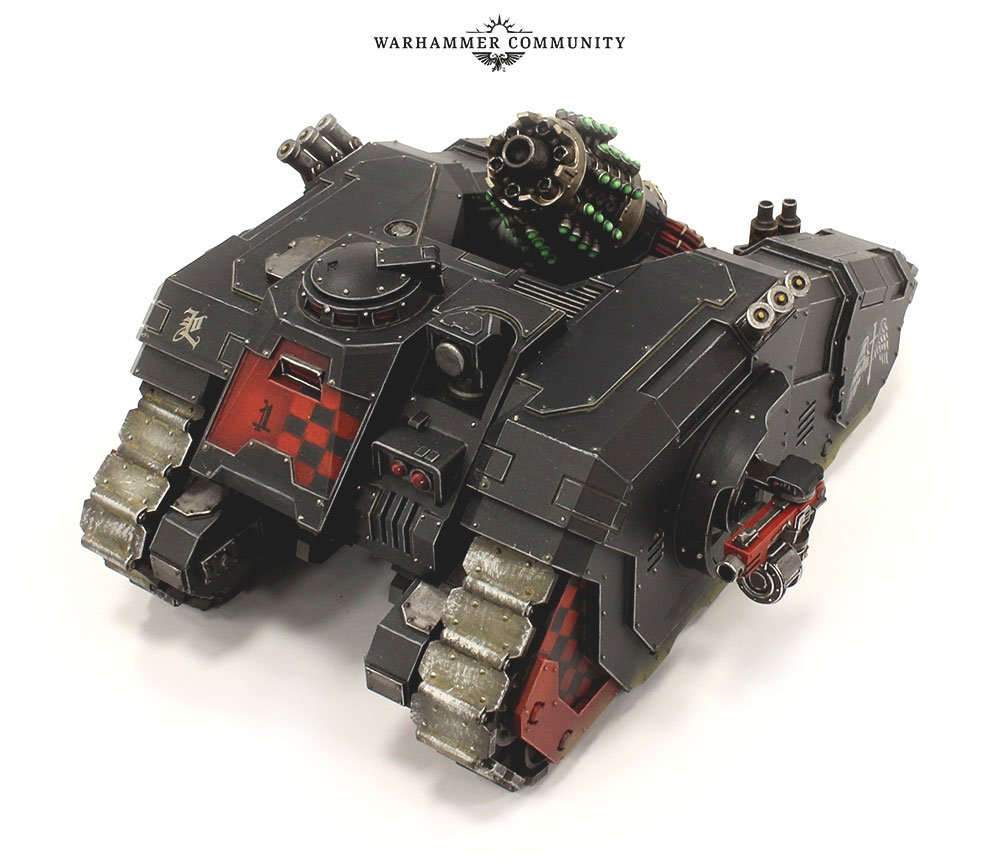 Legion Arquitor Bombard dark angel dark heresy