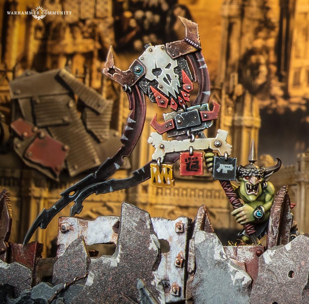 Warhammer Champions Grot Boss