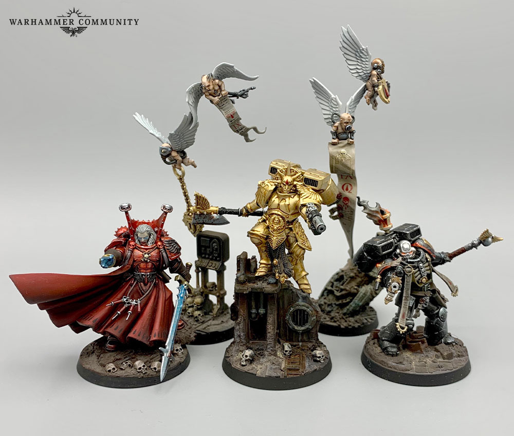 Details about  /GW Warhammer 40K Space Marine Blood Angels SANGUINARY GUARD seth mephiston BITS