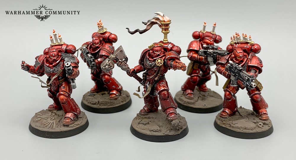 """PATCH WARHAMMER BLOOD ANGELS   4 /"""" IRON ON"""