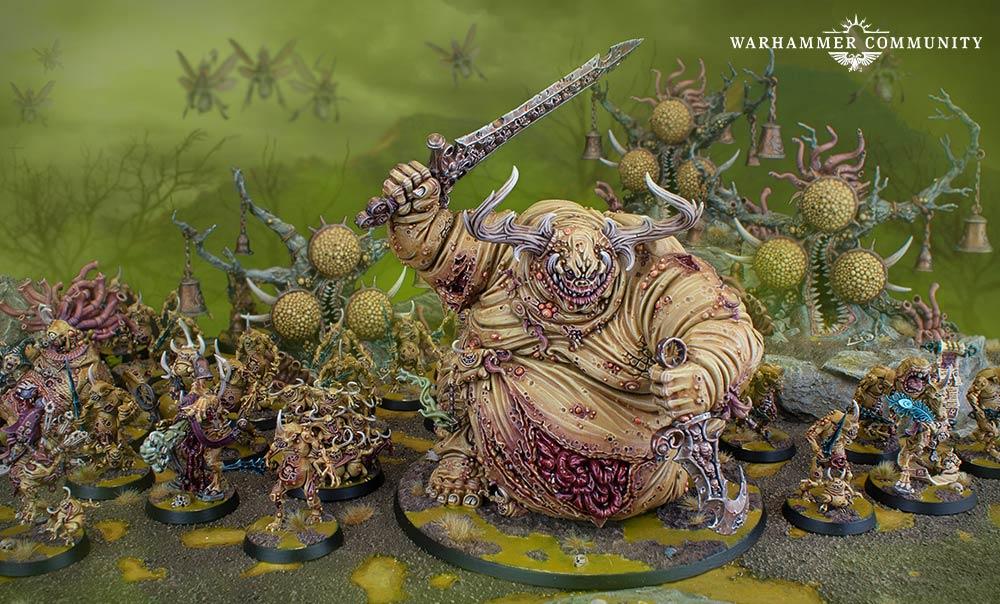 Tyler Mengel's Nurgle Collection - Warhammer Community