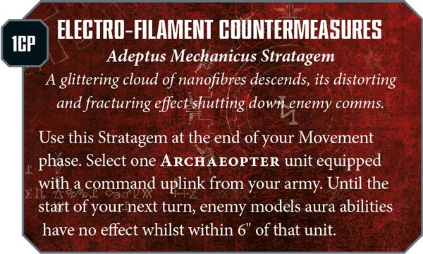 adeptus mechanicus new rules