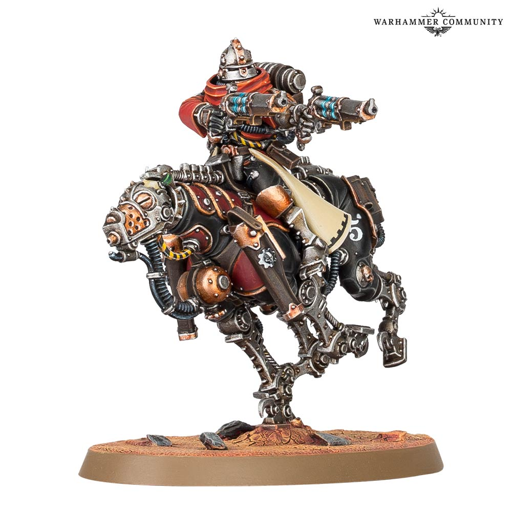 mechanicus warhammer 40000 rules reveal
