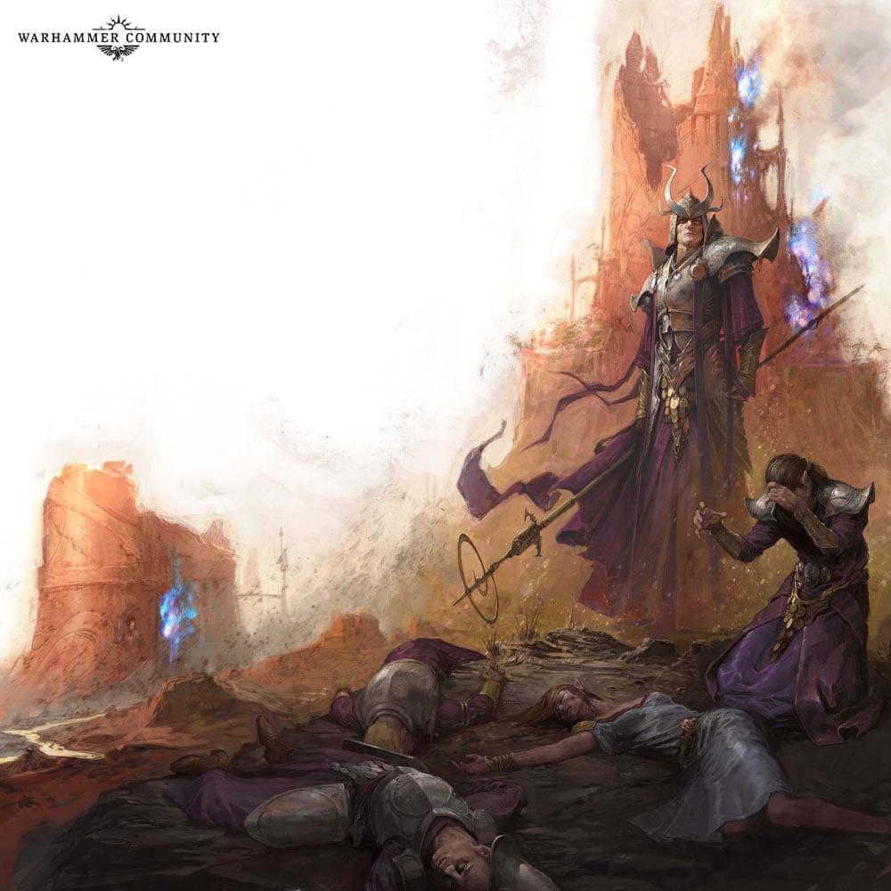 warhammer rumour Age of Sigmar lumineth