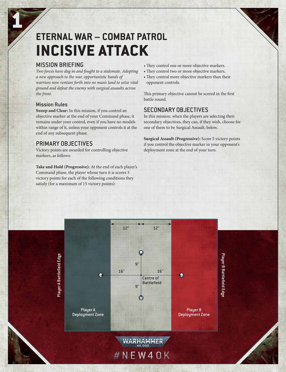 9th rules reveal Warhammer 40000