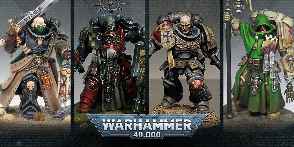 Indomitus Space Marines Painted By The Experts Warhammer Community