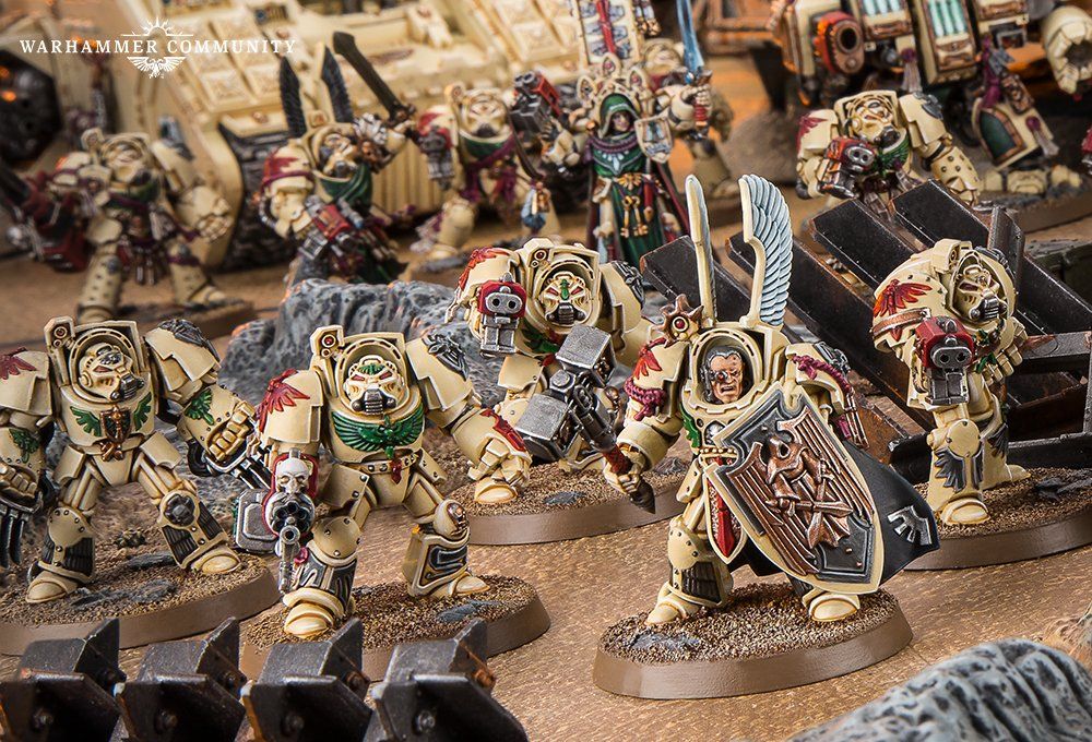 Terminators secure objectives with new Deathwing rules for Dark Angels -  Warhammer Community