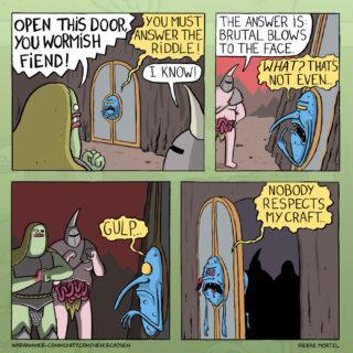 Neverchosen – Knock Knock Joke